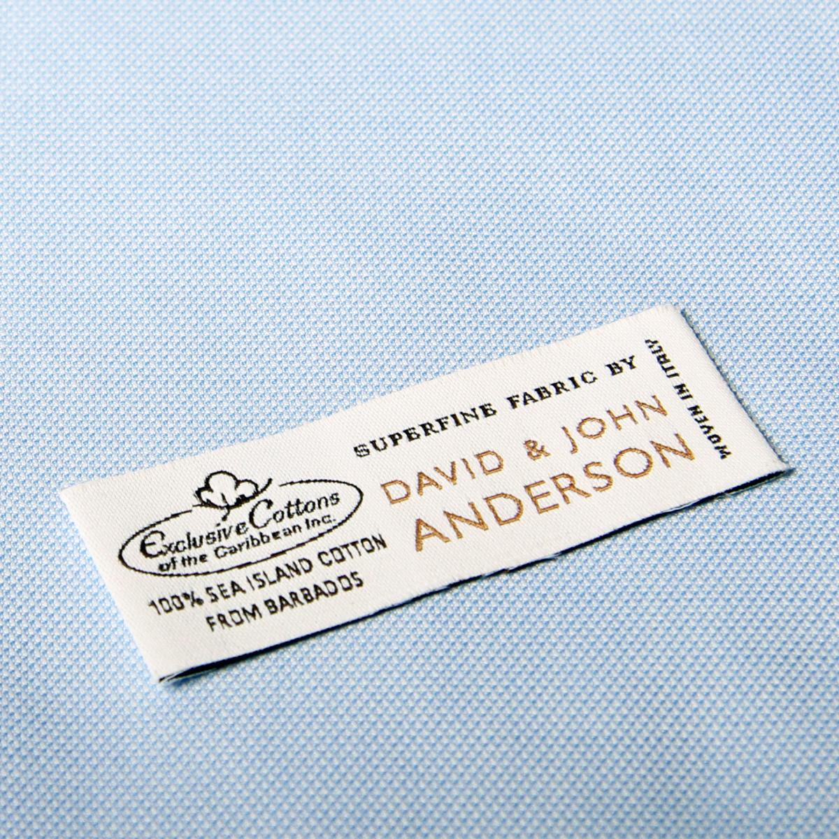David & John Anderson@Sea Island Cotton@ƒpƒlƒ‹ƒf[ƒ^227mm@~